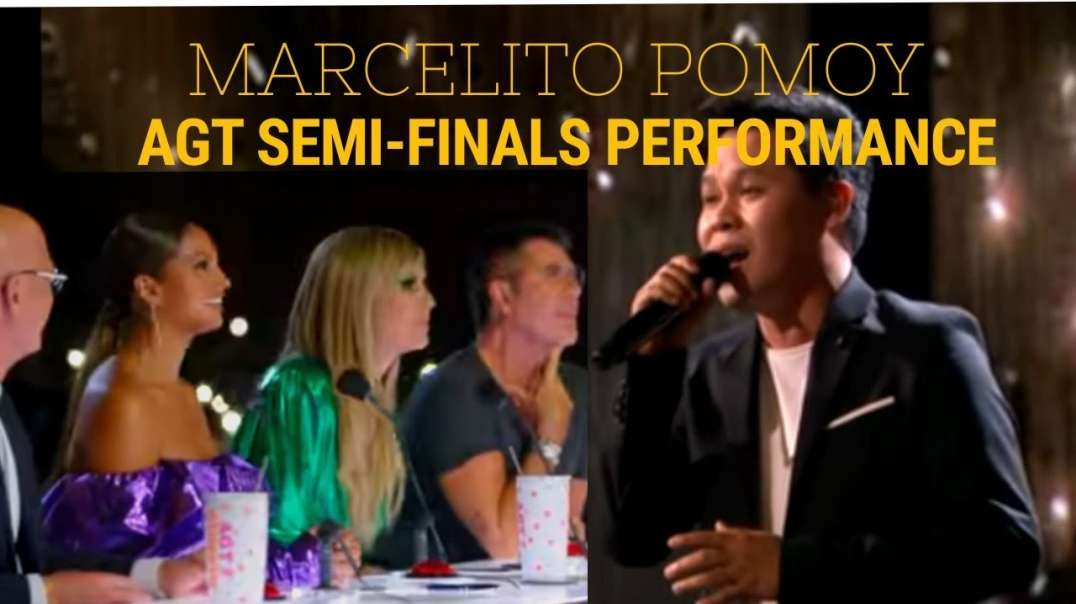 """Marcelito Pomoy Sings """"Con Te Partirò"""" With DUAL VOICES! - America's Got Talent: The"""